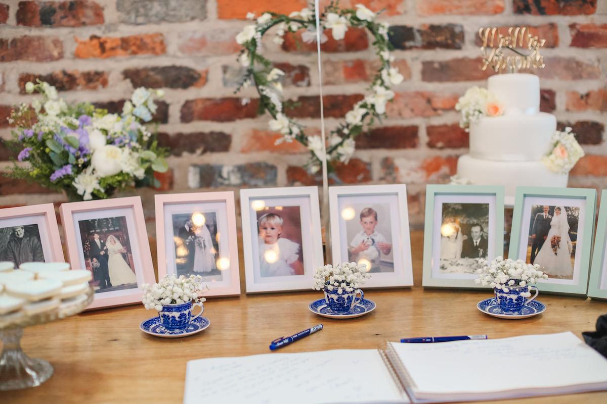 wedding photographs of granparents