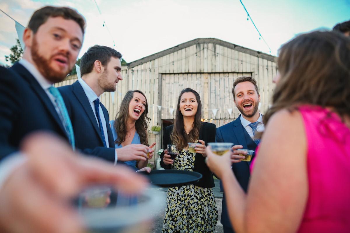 shots at weddings