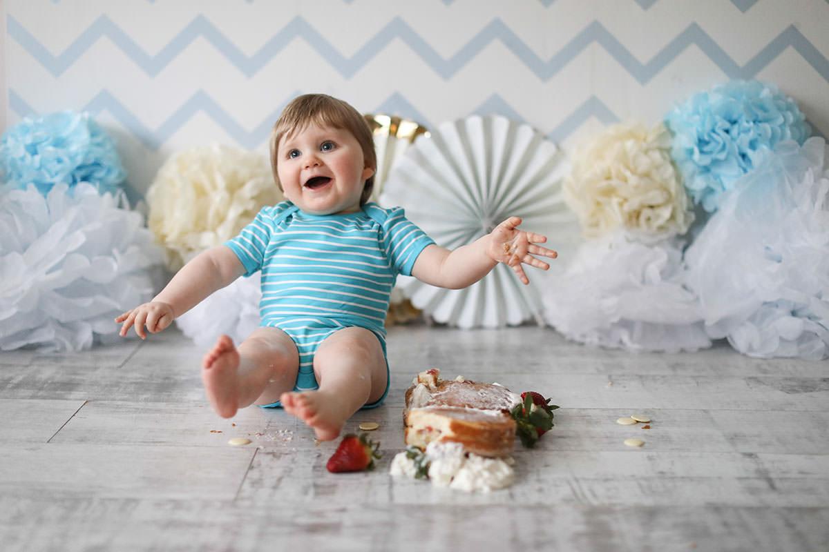 cake smash photography 1st birthday