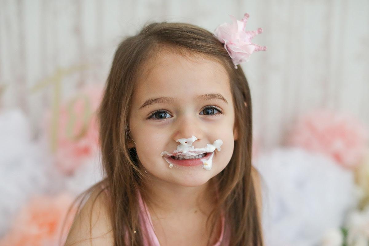 cake smash sister