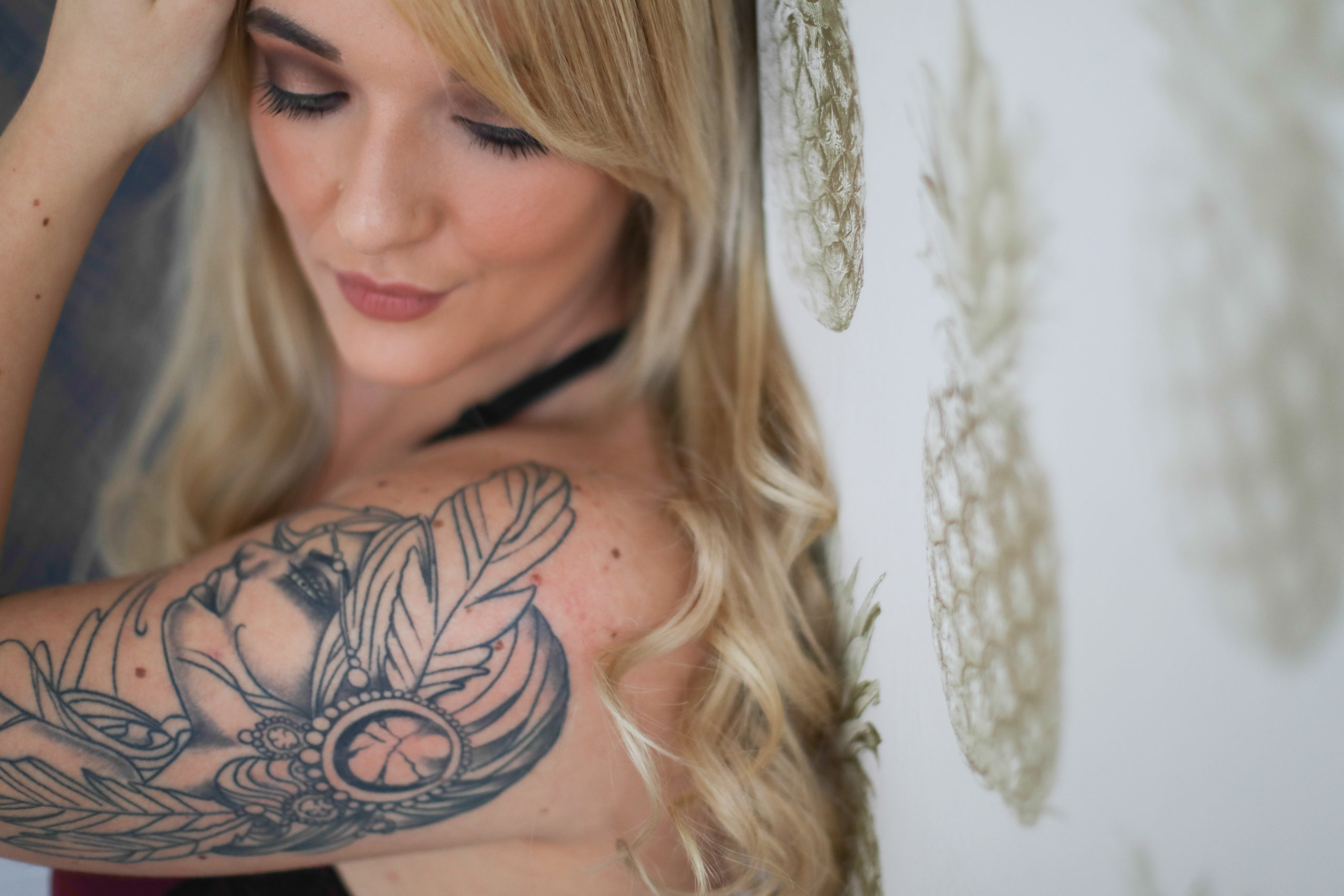 boudoir photography tattos