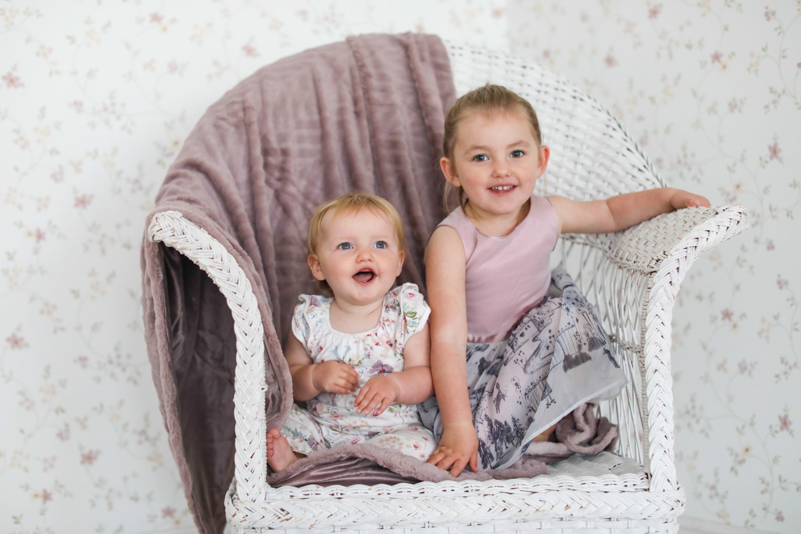 Baby Photography for sisters