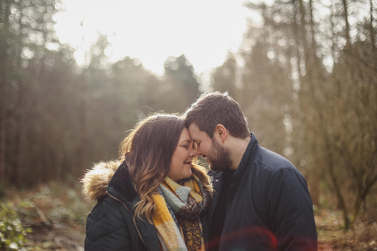 delamere forrest pre wedding shoot