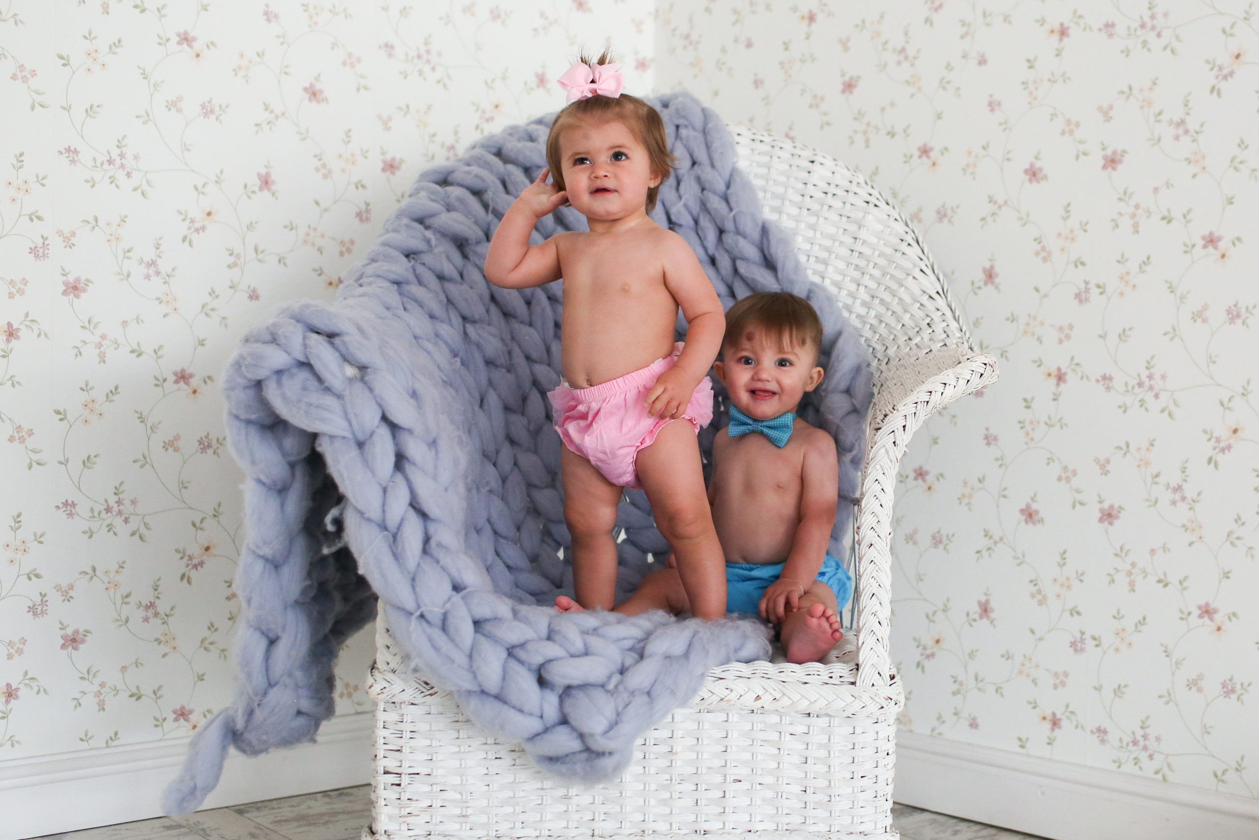 Baby Photography for twins